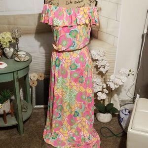 Lily Pulitzer Maxi Dress Size M